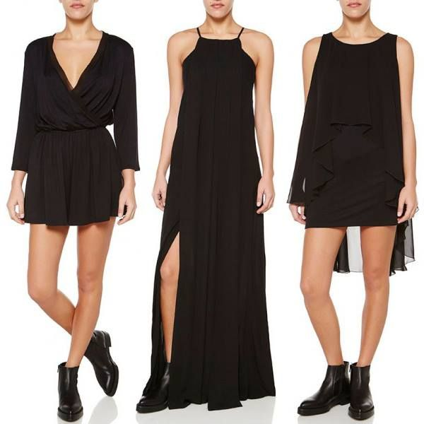 All black e'rythang. Maraveya's flawless monochromatic looks (perfect for girls night out) are on CLEARANCE for 50% off. Shop them up quick! #wecreateharmony #maraveya #clearance  Shop the collection here: http://bit.ly/1OahN1F