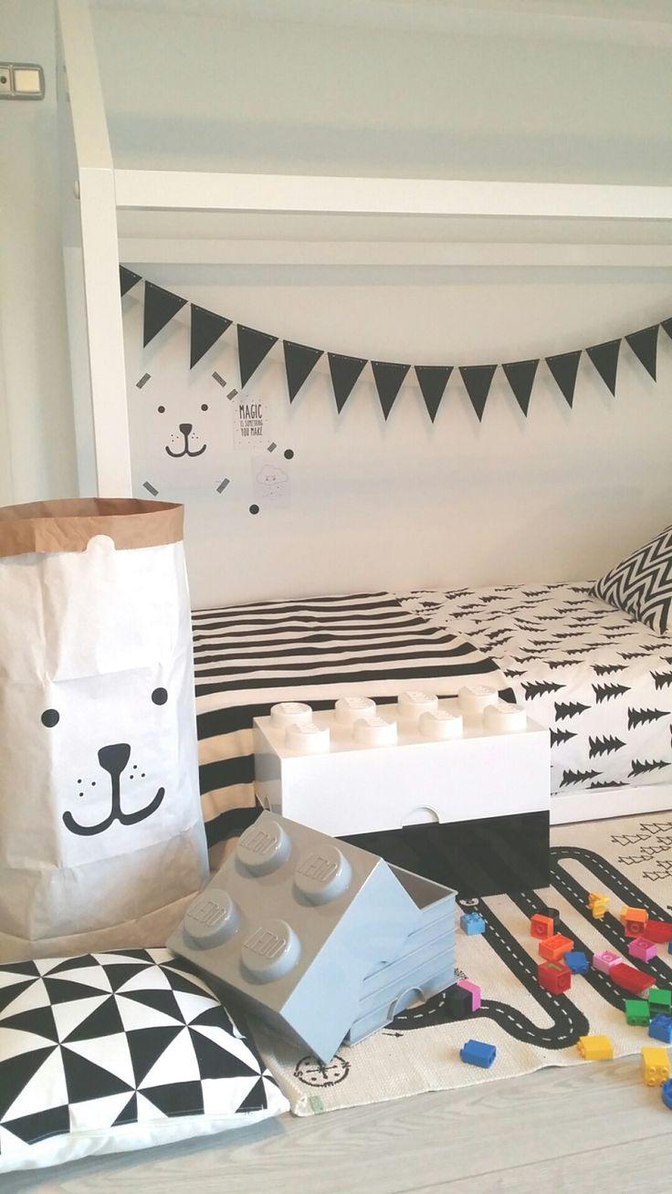 Habitación infantil en blanco y negro | Deco&Kids