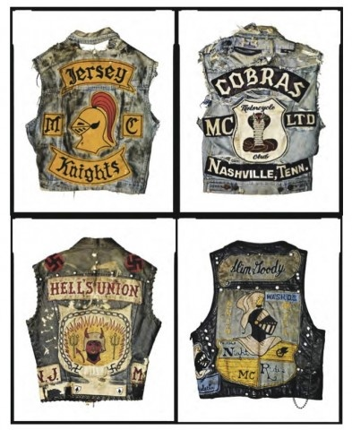 #ugurbilgin #UniTED Riders of www.anniea.com - Hell's Union: Motorcycle Club Cuts as American Folk Art CA Museum of Photography, Riverside, CA. Collected by artist and rider Jeff Decker,