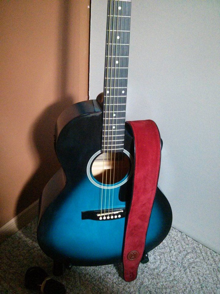 My new blue guitar :)
