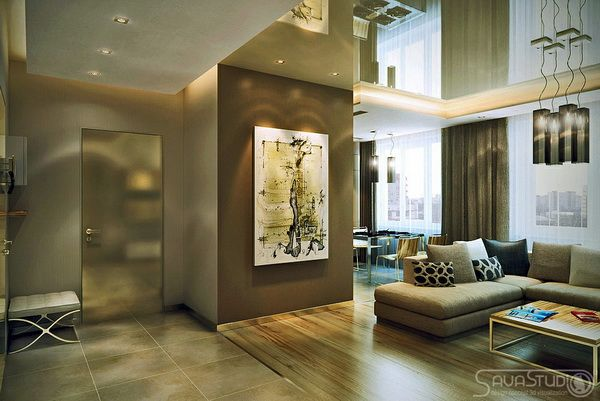 Contemporary Open Plan Designs in Moderate Proportions