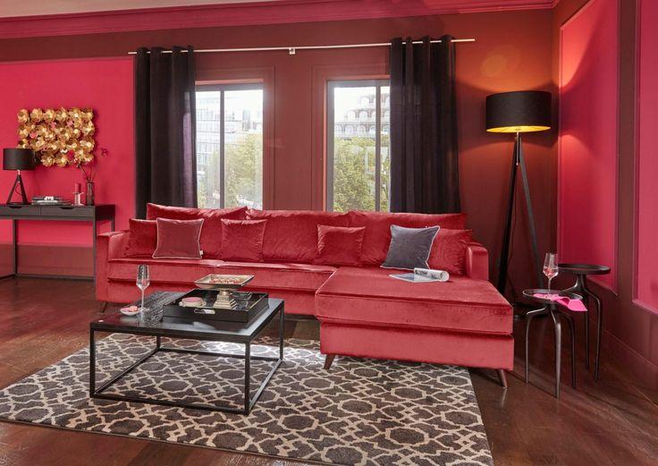die besten 25+ wohnzimmer rot ideen auf pinterest | blaue ... - Wohnzimmer Rot Braun