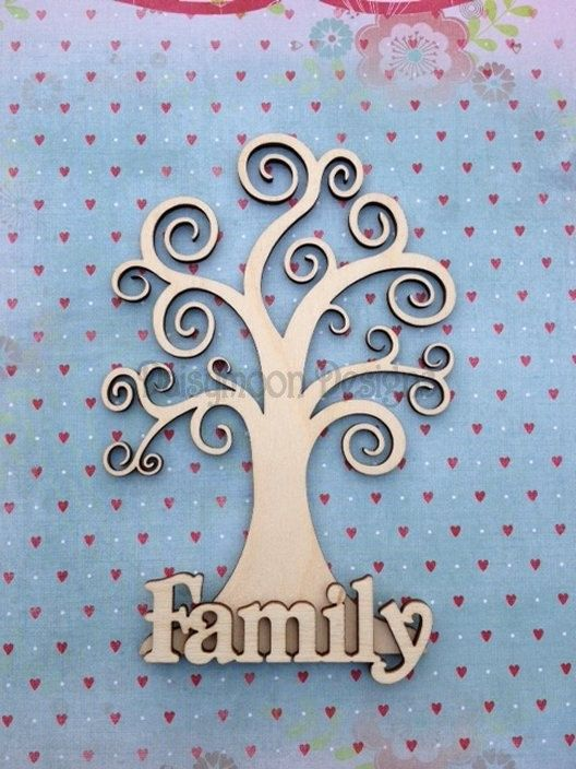 a swirly family tree