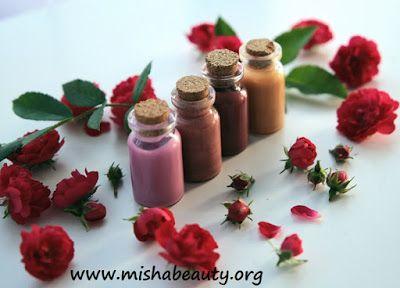 Misha Beauty - DIY kosmetika a jiné projekty : Lesk na rty - barevné kvarteto