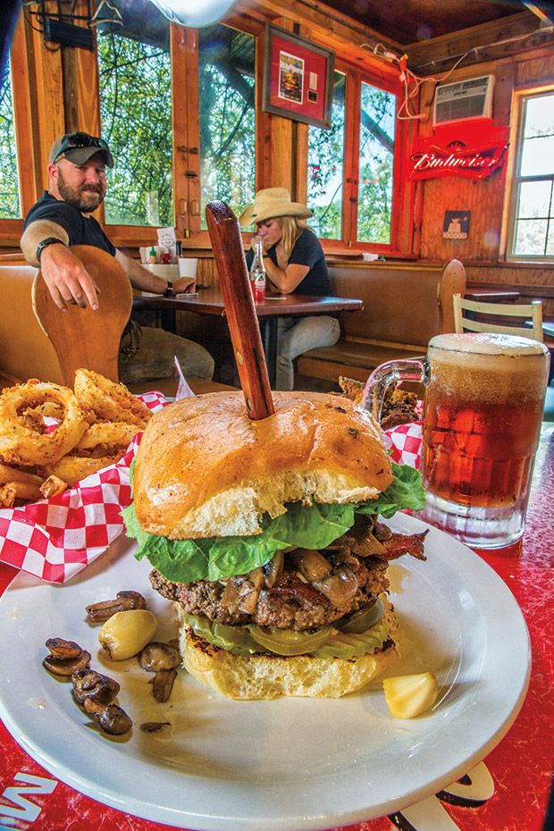Jucy's Hamburgers is the No. 1 place in Texas to get a #burger, according to Texas Highways readers.