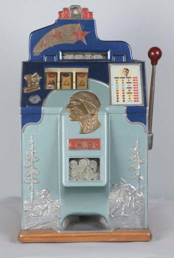 Slot machine gold star