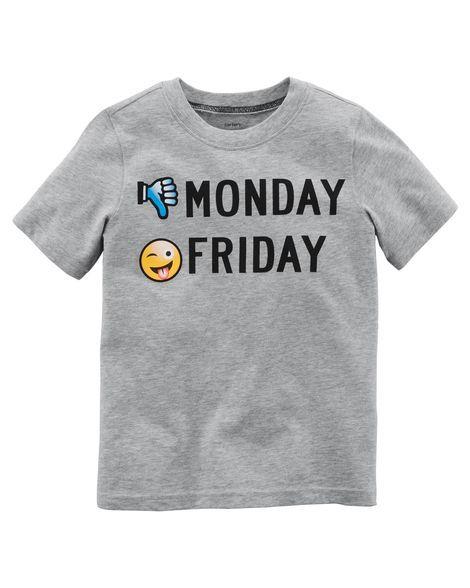 Monday Friday Jersey Tee
