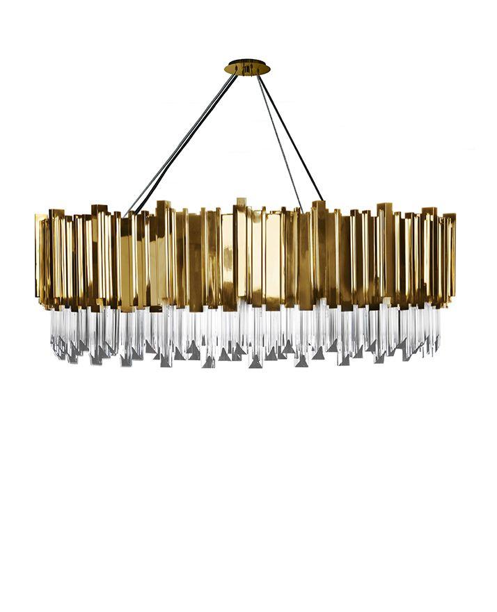 Empire Suspension   #lightingdesign #moderndesign #luxurylighting lamp design, ambient lighting, luxury homes . See more at www.luxxu.net