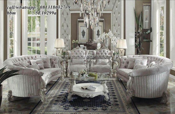 Kursi Sofa Tamu Duco Putih LuxuryPremium-yang satu ini merupakan salah satu desain sofa tamu modern yang bisa menjadi pilihan untuk ruang tamu anda.