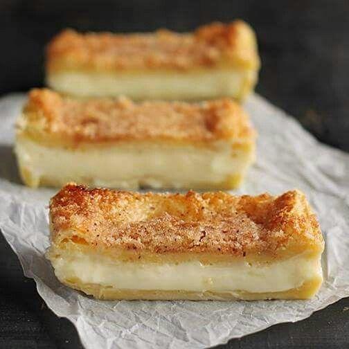 Cheese cake. Bars