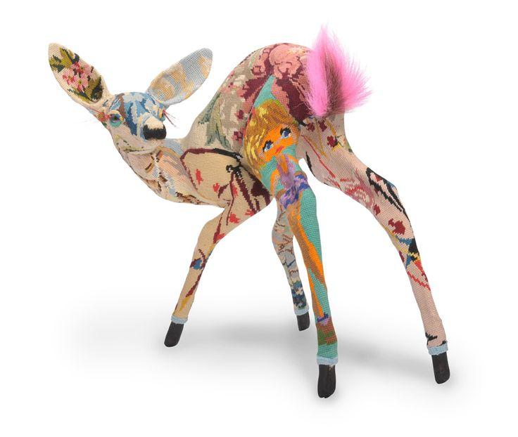 .: Tapestries, Sculpture, Animals, Art, Tapestry Animal, Deer