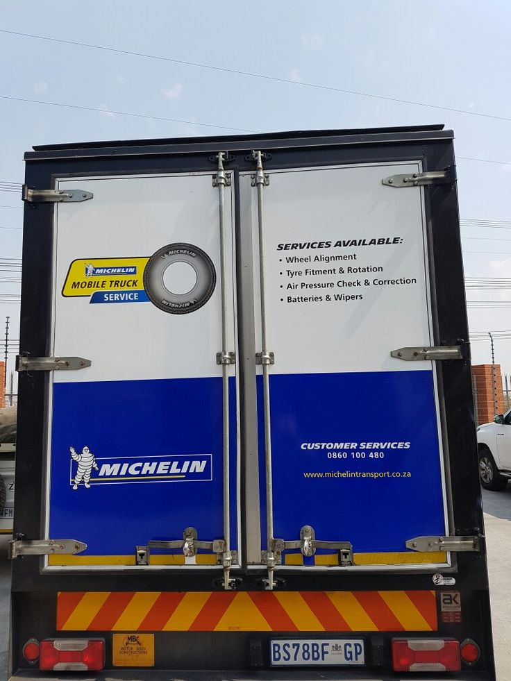Michelin Mobile Break Down Unit