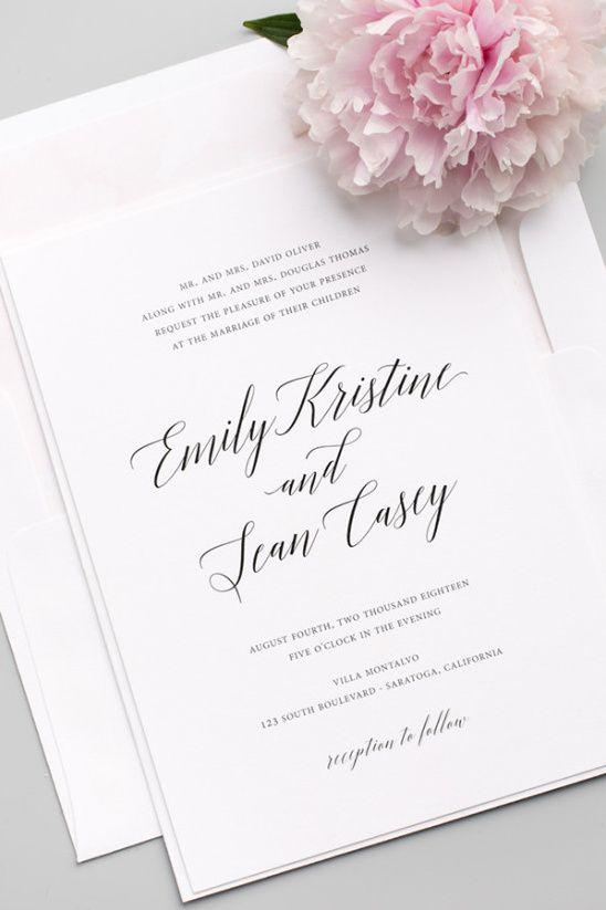 742 best Wedding Paper images on Pinterest Custom invitations