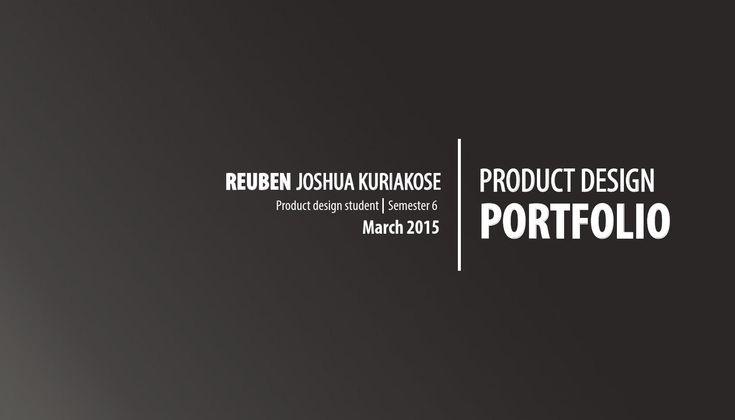 Product Design Portfolio 2015