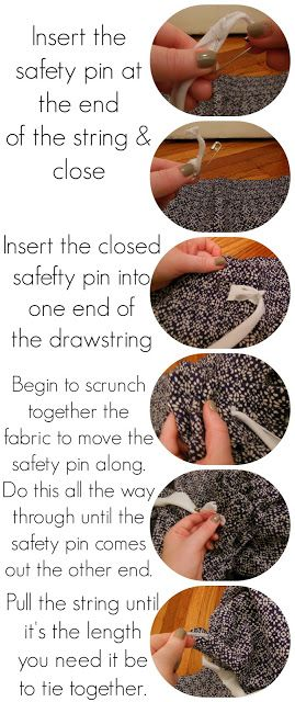 165 best images about Sewing tutorials on Pinterest | Drawstring ...