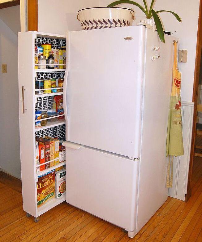 Высокий шкаф для кухни своими руками
