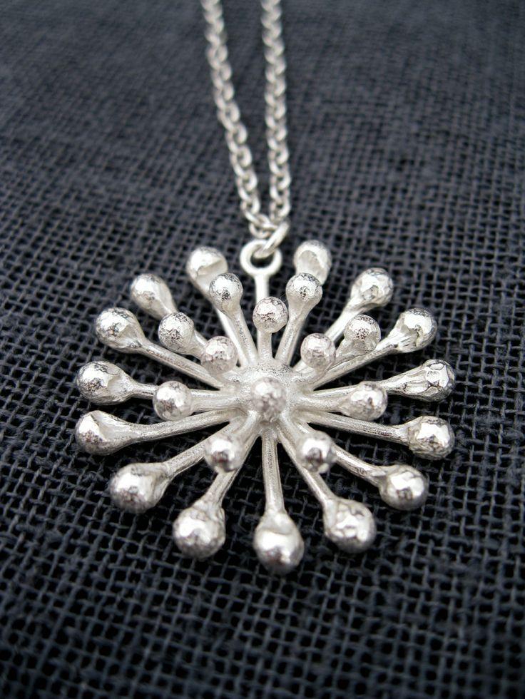 Dandelion Necklace | Felt