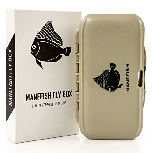 Manefish Fly Box (3 Pack) - Slim Fly Fishing Box  http://fishingrodsreelsandgear.com/product/manefish-fly-box-3-pack-slim-fly-fishing-box/  ONE YEAR WARRANTY! The Manefish Fly Box unique push button opening mechanism worries anglers, so we include a one year warranty to let you know we stand by the quality of our product. Opens easily with the touch of a button Incredibly thin fly box (only 1.1″) – Will fit any pocket