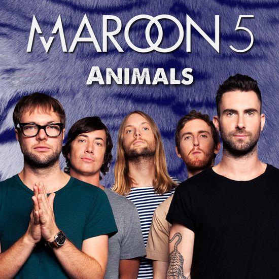 マルーン5の「Animals」。 マルーン5のボーカル アダム
