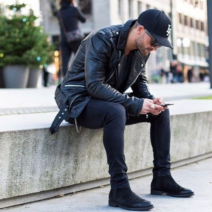 Pin By Blake Connell On Fall Winter Clothes Chelsea Boots Men Outfit Mens Casual Outfits Mens Street Style