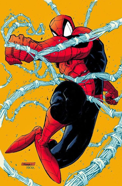 Spider-Man by Ryan Stegman, colours by Rico.