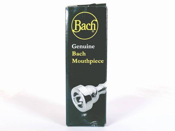 Bach Custom 5GS Gold Rim Silver Underpart Trombone Mouthpiece BRAND NEW