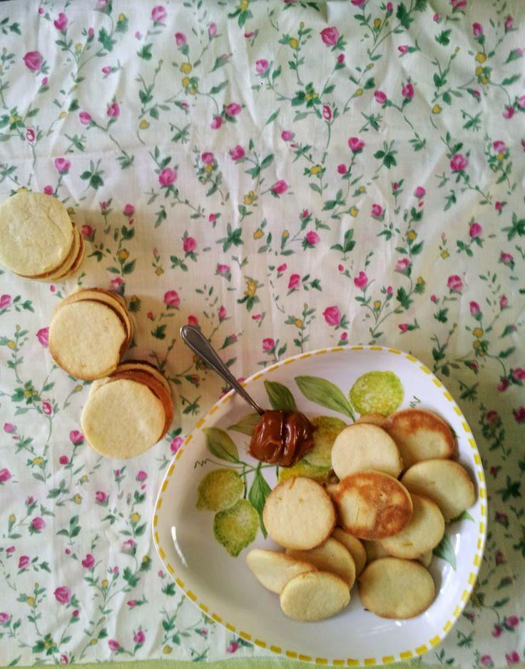 The Daisy blogg: Galletas de limòn y dulce de leche