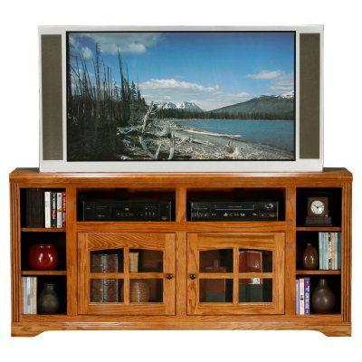 Eagle Furniture Oak Ridge 66 in. Thin TV Stand - 93565PLCM