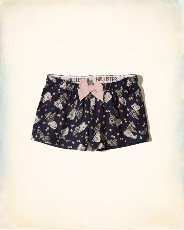 Girls Flannel Sleep Short | Girls New Arrivals | HollisterCo.com