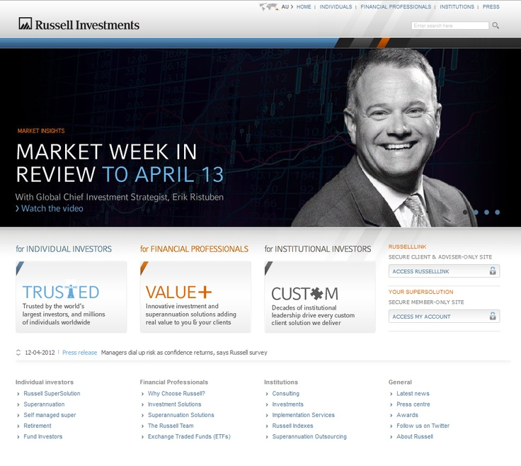 Russell Investments  www.mr2percent.com