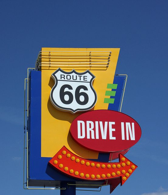 Route 66 Drive-In in Springfield, Illinois