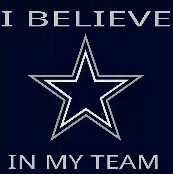 I believe in my team!