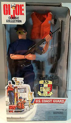 GI Joe Classic Collection 35th Anniversary US Coast Guard In Original Box. on Etsy, $29.95