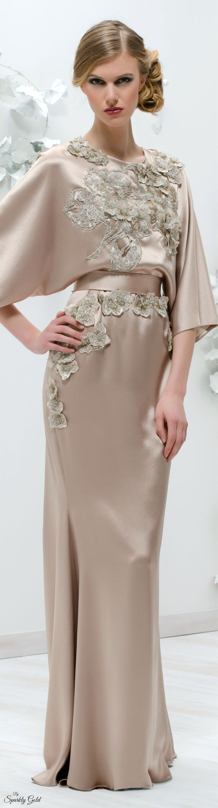 The gown boutique.  Blush pink Gown Isabel Sanchis