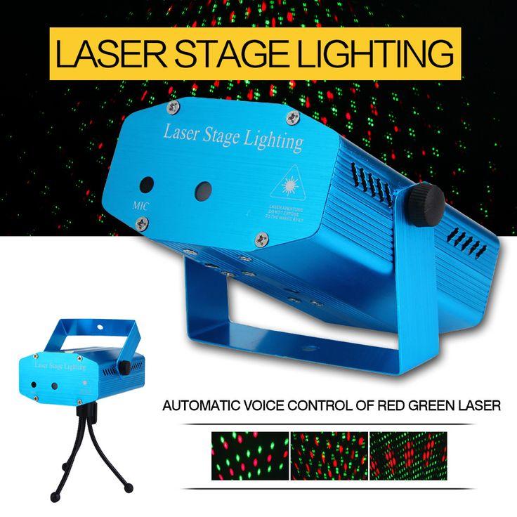 Portable multi LED bulb strat music Laser Stage Lights Lighting Adjustment DJ Party Home Wedding Club KTV Bar Stage Projector