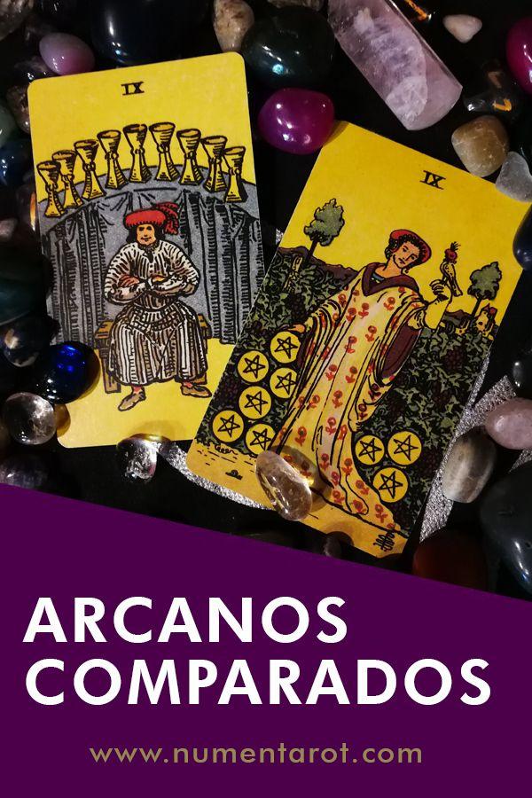 9 De Oros Vs 9 De Copas Leer El Tarot Arcanos Menores Tarot
