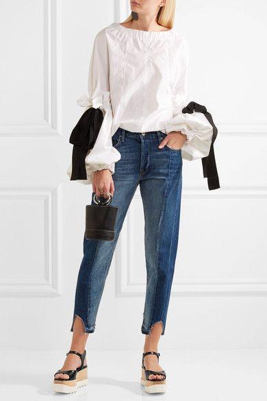 Stella McCartney - Faux Leather Platform Sandals - Black - IT35.5