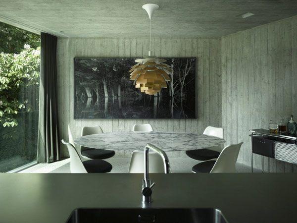 Concrete House By Schneider U0026 Schneider U2013 Captured By Bergdorf · ArtichokesMid  Century DesignModern ...