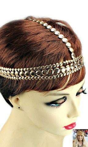 'NICOLE' URBAN GLAM LAYED HEADCHAIN