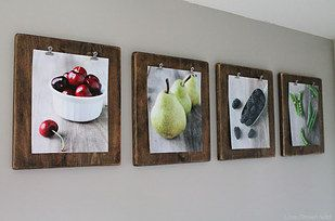 Or DIY a sturdier version. | 27 Unique Photo Display Ideas That Will Bring Your Memories To Life