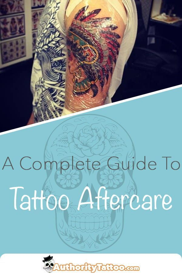 Tattoo Aftercare Taking Care Of A Tattoo In 9 Steps Tattoo