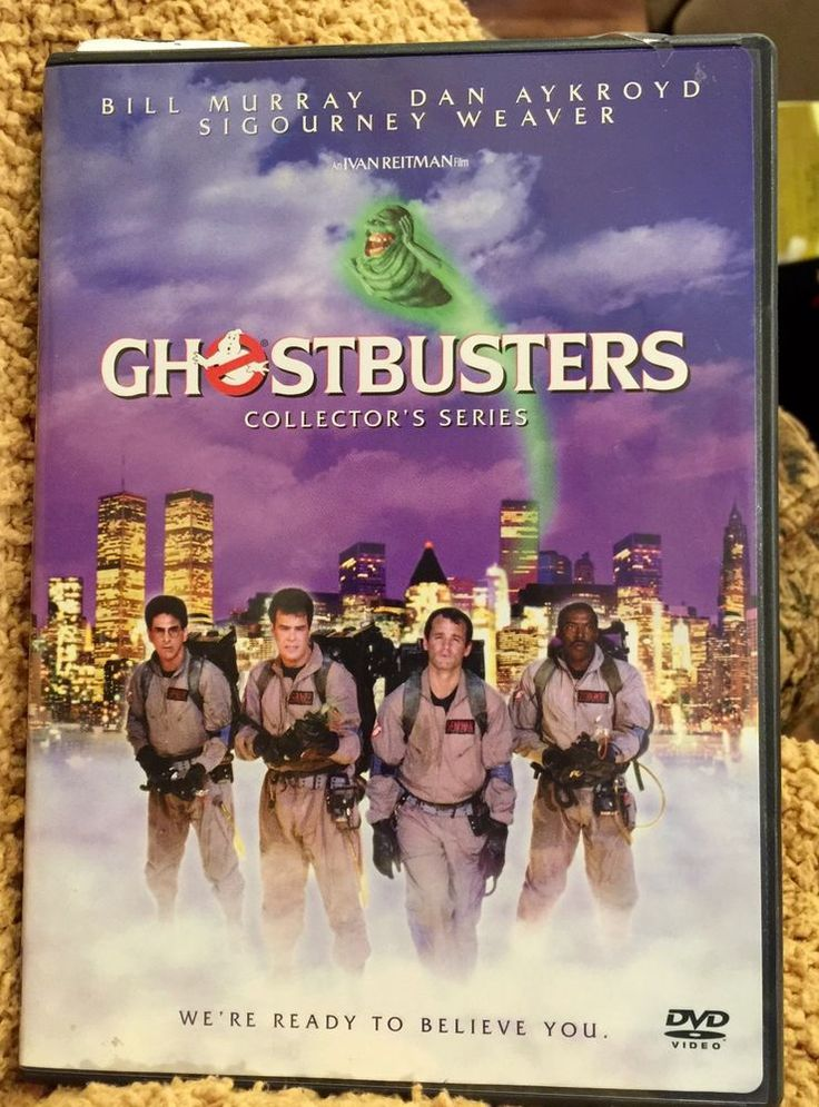 ghostbusters (#dvd 1999) aykroyd  weaver  murray collector's series 80's ws from $2.99
