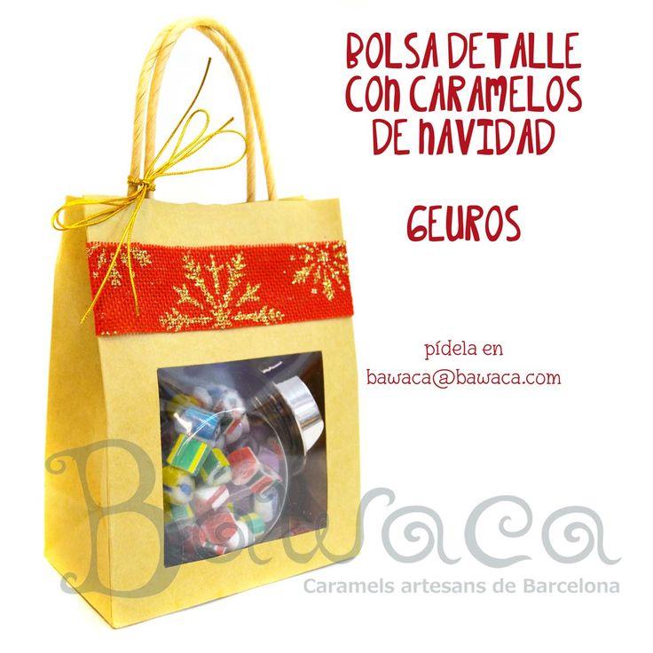 Bolsita detalle para tu amigo invisible o para esa persona especial! Pide la tuya en www.bawaca.com