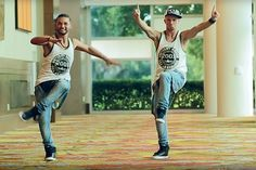 Whether you're in the mood for dancing or not, we highly recommend watching these guys get down! #zumba #workout #video http://greatist.com/move/zumba-workout-video-beginner