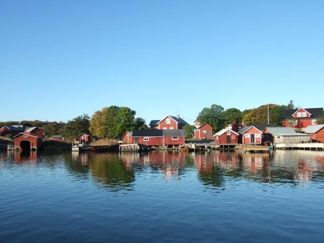 Turku Archipelago. Kökar harbor.