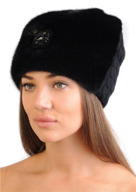 Модная норковая шапка 2017