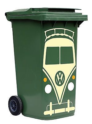 VW CAMPER VAN SPLIT SCREEN WHEELIE BIN STICKER TRANSFER in Other Home, Furniture & DIY | eBay