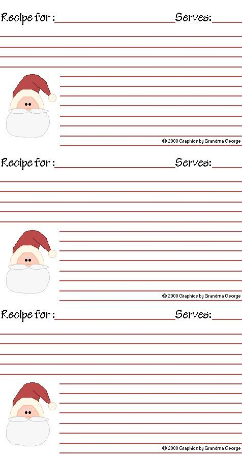 35 best RECIPE CARDS images on Pinterest Wrapping, At home and Cards - free recipe card templates for microsoft word