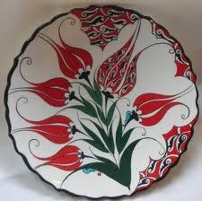 Modern reinterpretation of Iznik pottery from the 15-17th centuries.