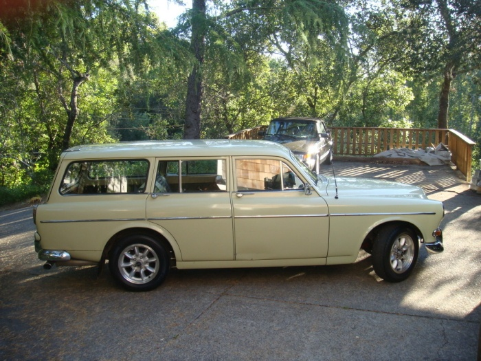 1966 Volvo Station Wagon  I would do just almost anything to own this car.